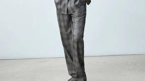 Massimo Dutti tiene un pantalón de cuadros para ir al trabajo