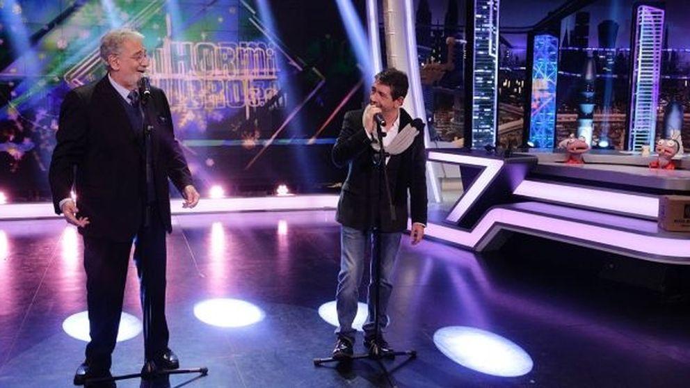 'El hormiguero' - Plácido Domingo canta en directo junto a su hijo