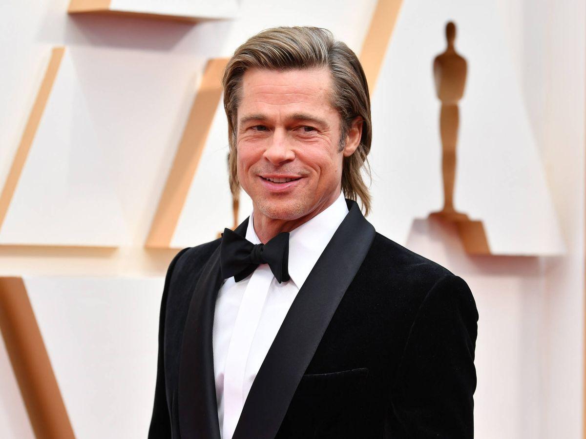 Foto:  Brad Pitt, siempre imperial. (Getty)