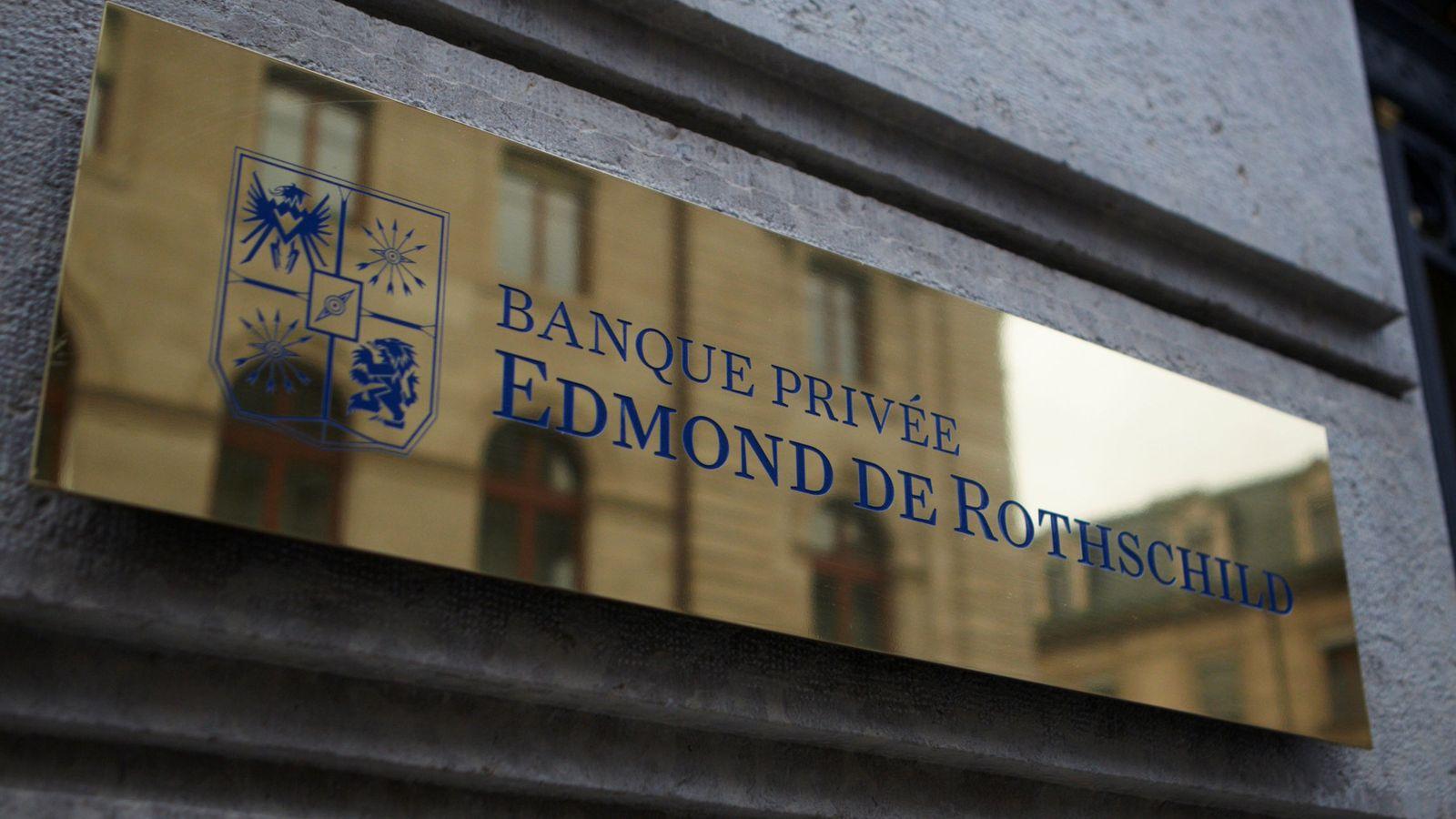 Foto: Logo de Edmond de Rothschild. (Reuters)