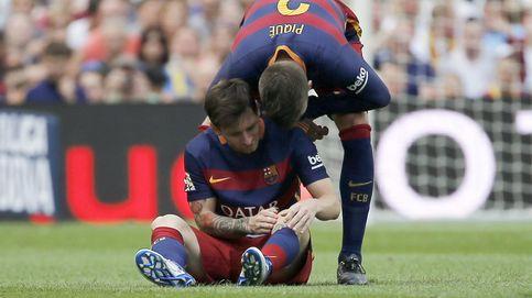 Messi se rompe el ligamento colateral de la rodilla y es duda para el Clásico
