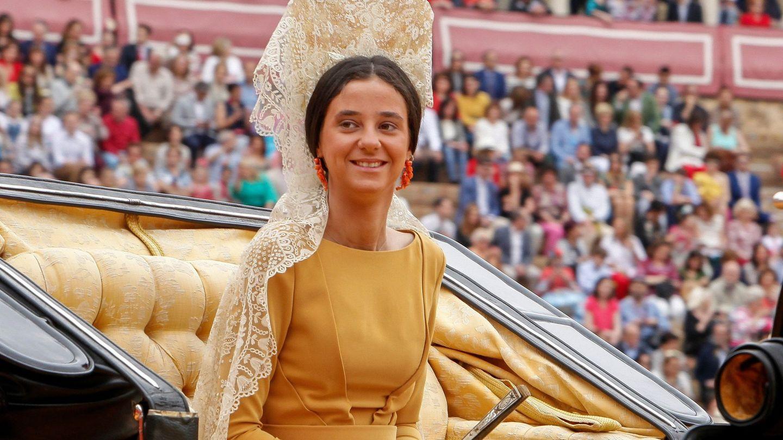 Victoria Federica, en la Maestranza. (EFE)