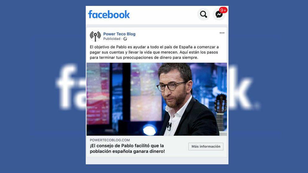 El timo de Facebook que sufrió Pablo Motos en El Hormiguero: qué es y cómo evitarlo