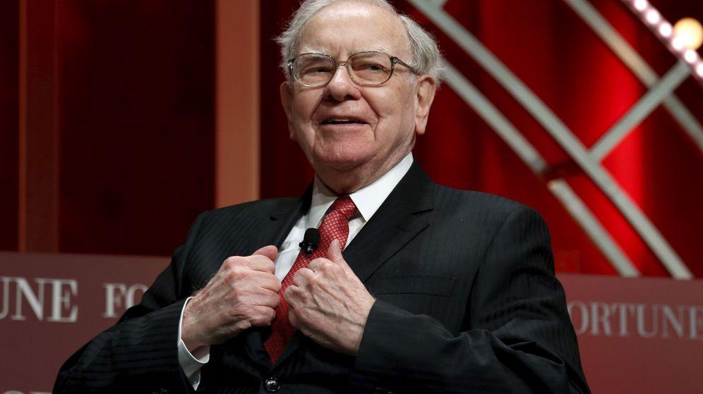 Foto: Warren Buffett, CEO de Berkshire Hathaway. (Reuters)