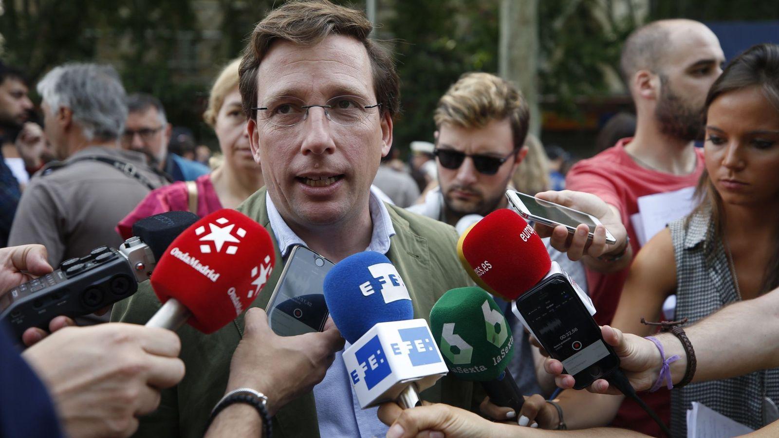 Foto: José Luis Martínez-Almeida. (EFE)