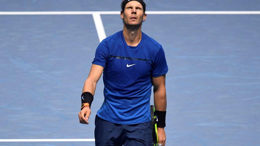 Foto: Rafa Nadal. en un torneo ATP. (Reuters)