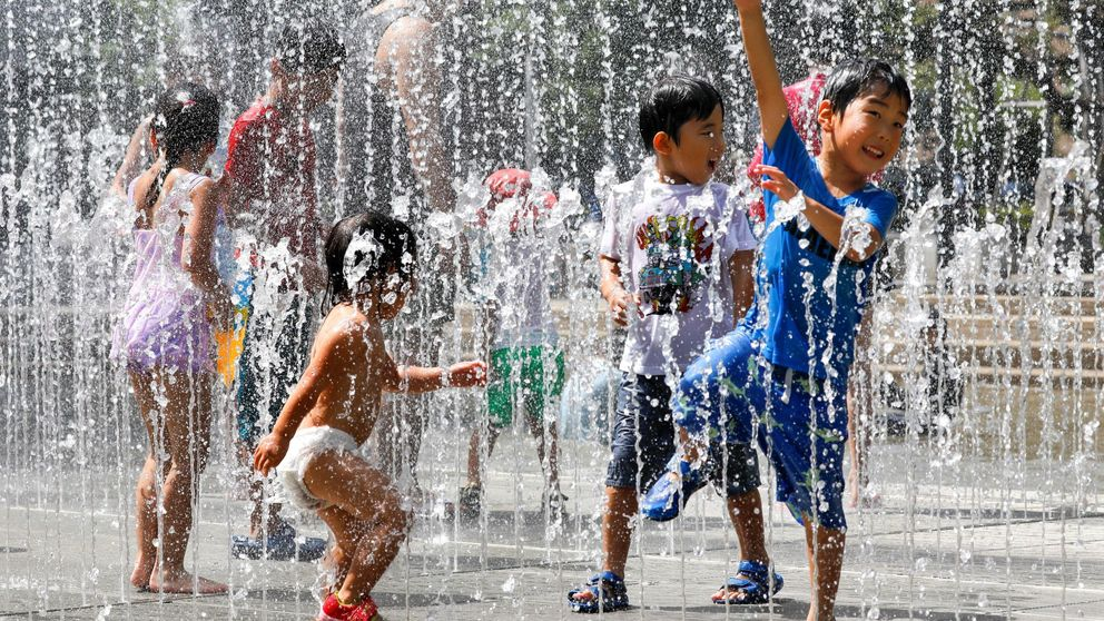 La ola de calor golpea duramente Japón: 57 muertes y 18.000 hospitalizados