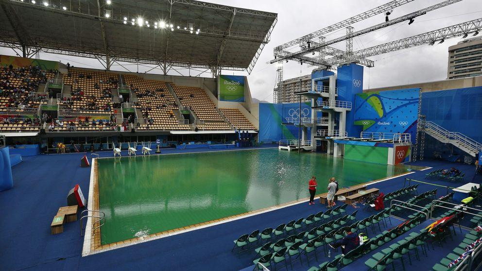 El Comité Organizador de Río cierra la piscina de saltos por exceso de acidez
