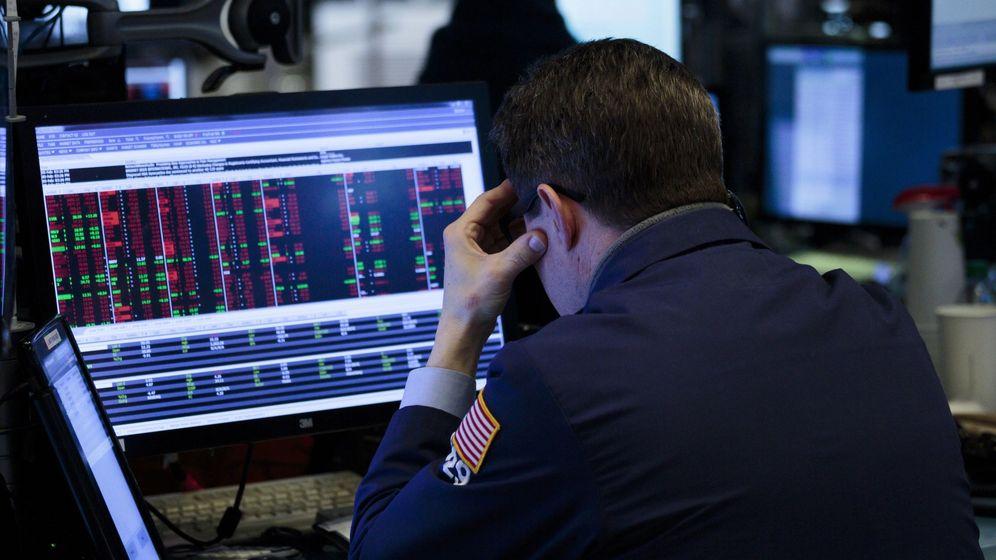Foto: Imagen de un trader de Wall Street (Efe)