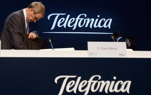 Telefónica bate previsiones con un beneficio de 2.056 millones