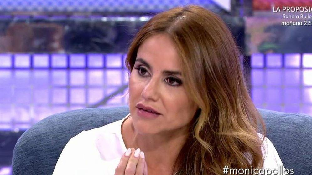 Foto: Mónica Hoyos, en 'Sábado Deluxe'. (Mediaset)