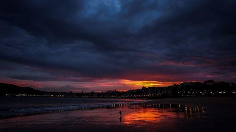 Cielos nubosos en San Sebastián