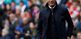 Post de Las palmaditas de Zidane en un Real Madrid de 'niños' asustados