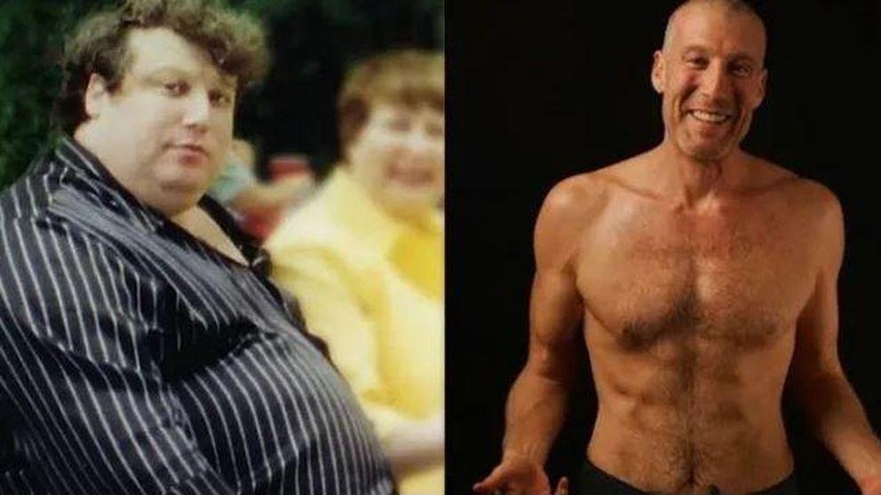 Este hombre explica las 7 cosas que hizo para perder 99 kilos sin hacer dieta