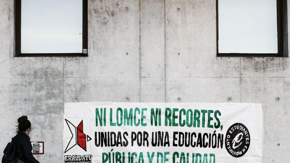 Foto: Todas las imágenes de la huelga de educación