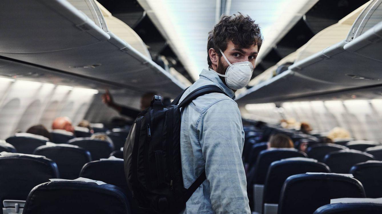 Estados Unidos multa con 12.800 euros a quien no se ponga mascarilla en un avión