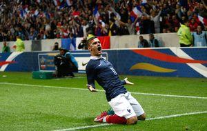 Francia se agarra al 'enfant' Griezmann para olvidar el vacío dejado por Ribéry