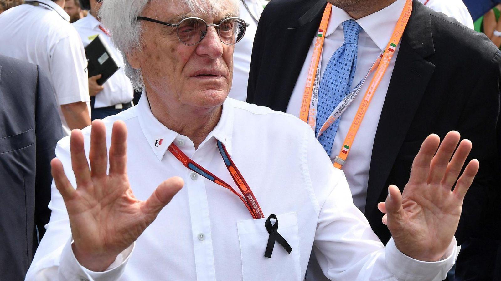 Foto: Bernie Ecclestone, este pasado fin de semana en Italia.