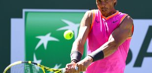 Post de Rafa Nadal - Khachánov: horario y dónde ver Indian Wells en TV y 'online'