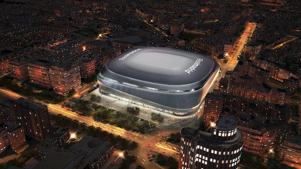 Foto: El nuevo Bernabéu. Foto: Ayuntamiento de Madrid