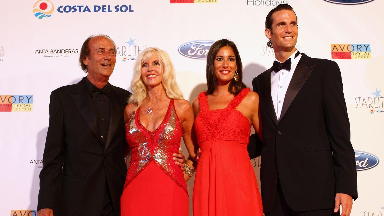 Foto: Luis Ortiz, Gunilla Von Bismarck, Francisco Ortiz y su mujer (Gtres)