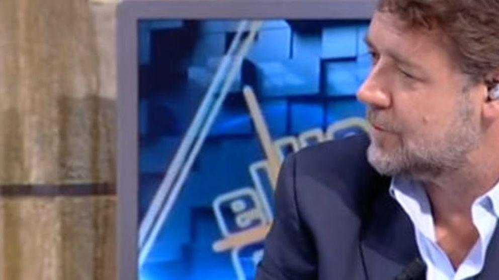 Russell Crowe, un nuevo amigo en Hollywood para 'El Hormiguero'