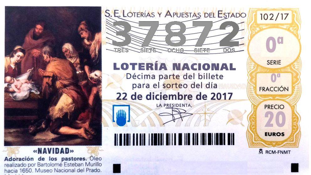 La Lotería de Navidad ya tiene su tercer quinto premio: 37.872