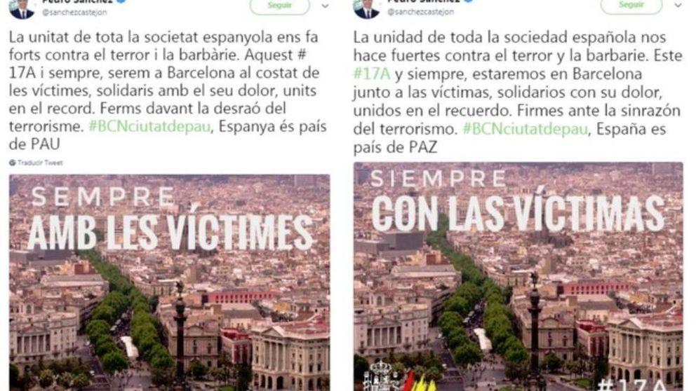 Banderas borradas, las manos, Turka, el falcon... Pedro Sánchez atrapado en la red