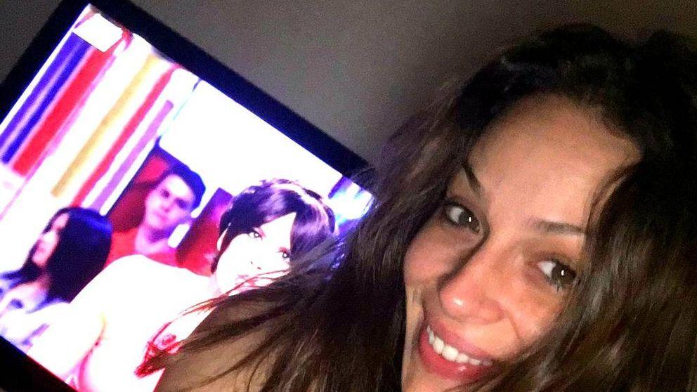 La peineta de Eva González a Cristina Pedroche y a 'Zapeando' en Twitter
