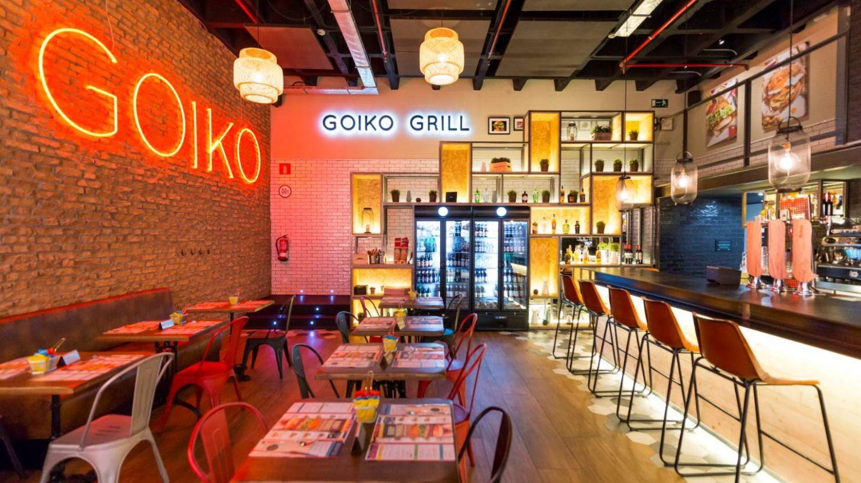 Goiko Grill en el centro comercial Arturo Soria Plaza.