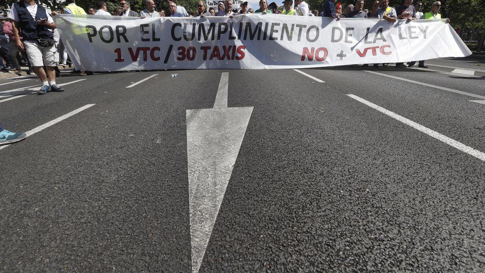 Uber y Cabify vs. taxis: la huelga enfrenta a los españoles en Internet
