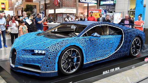 Un Bugatti Chiron de Lego y arte sobre el paisaje en Ginebra: el día en fotos