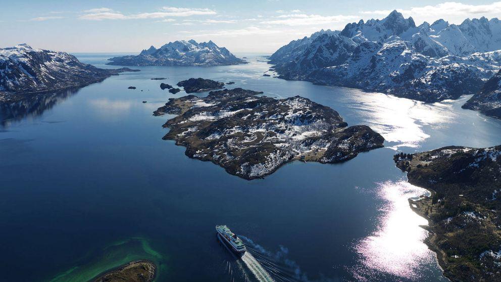 Pon rumbo al norte: ¿te apuntas al viaje por mar más bello del mundo?