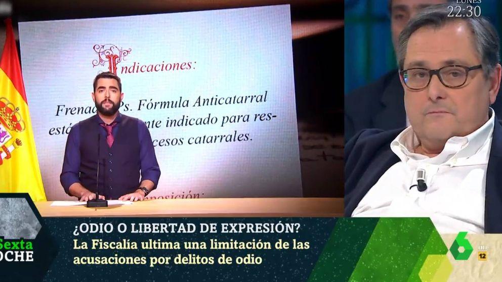 Marhuenda : Me sonaría con la bandera para defender a Dani Mateo