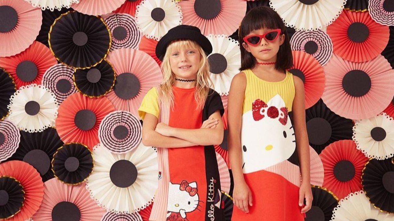Desigual celebra el aniversario de Hello Kitty con el lanzamiento de una colección infantil