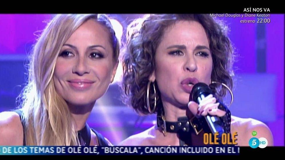 Foto: Marta Sánchez y Vicky Larraz en '¡Qué tiempo tan feliz!'.