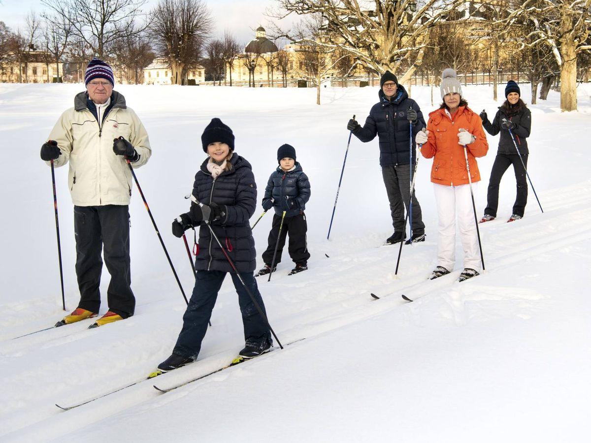 Foto: La familia real sueca. (Cordon Press)