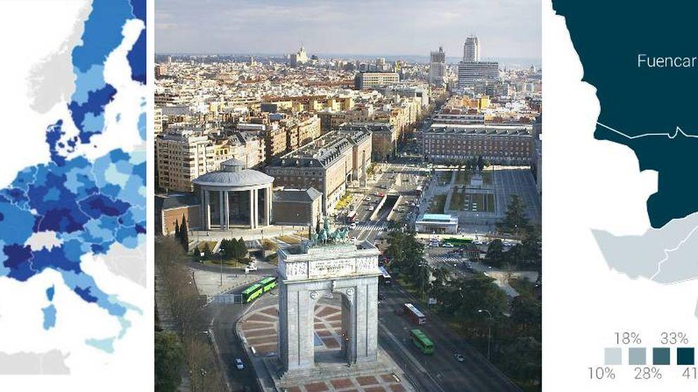 El talento se concentra en Madrid: Es más fácil irse al extranjero que a León