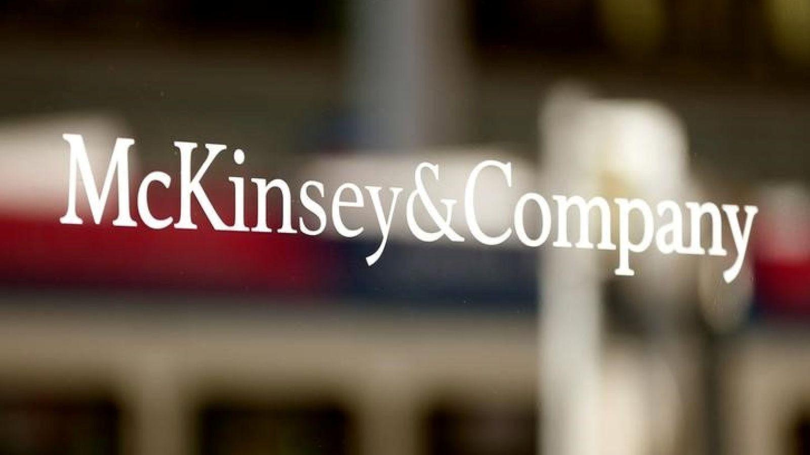 Foto: Logo de McKinsey & Company, la consultora más influyente del mundo. (Reuters)