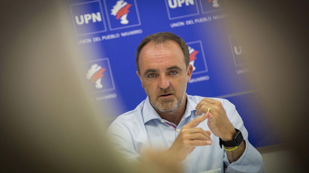 Foto: El presidente de UPN, Javier Esparza. (EFE)