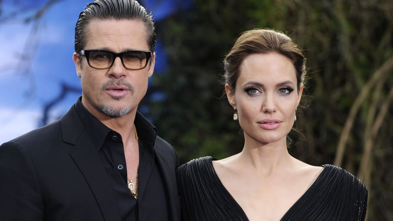 Foto: Angelina Jolie y Brad Pitt (EFE)