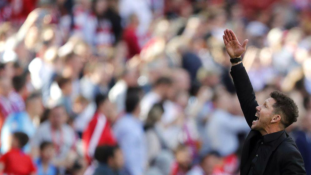Foto: Diego Simeone durante la temporada pasada. (EFE)