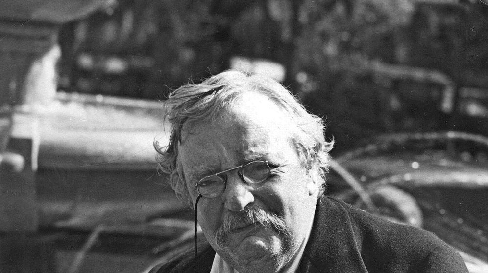 Foto: G. K. Chesterton. (EFE)