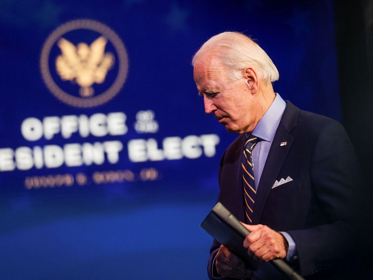Foto: El presidente electo de EEUU, Joe Biden. (Reuters)