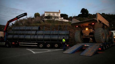 La previsión de lluvia del fin de semana en Totalán amenaza el rescate de Julen