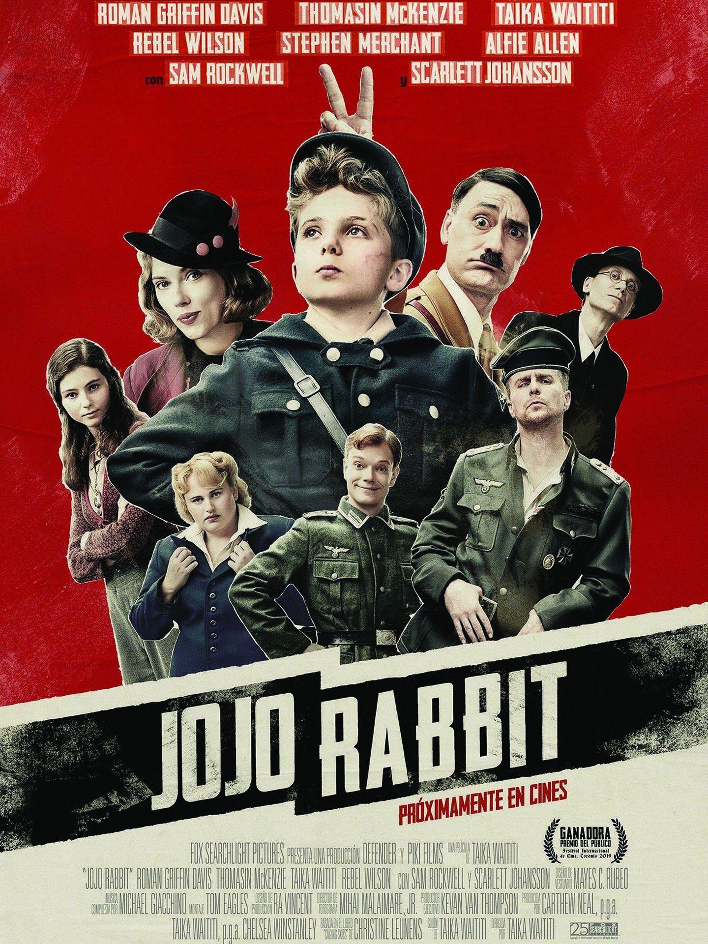 Cartel de 'Jojo Rabbit'.