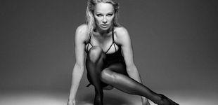 Post de La sesión más 'hot' de Pamela Anderson con lencería erótica  a los 49 años