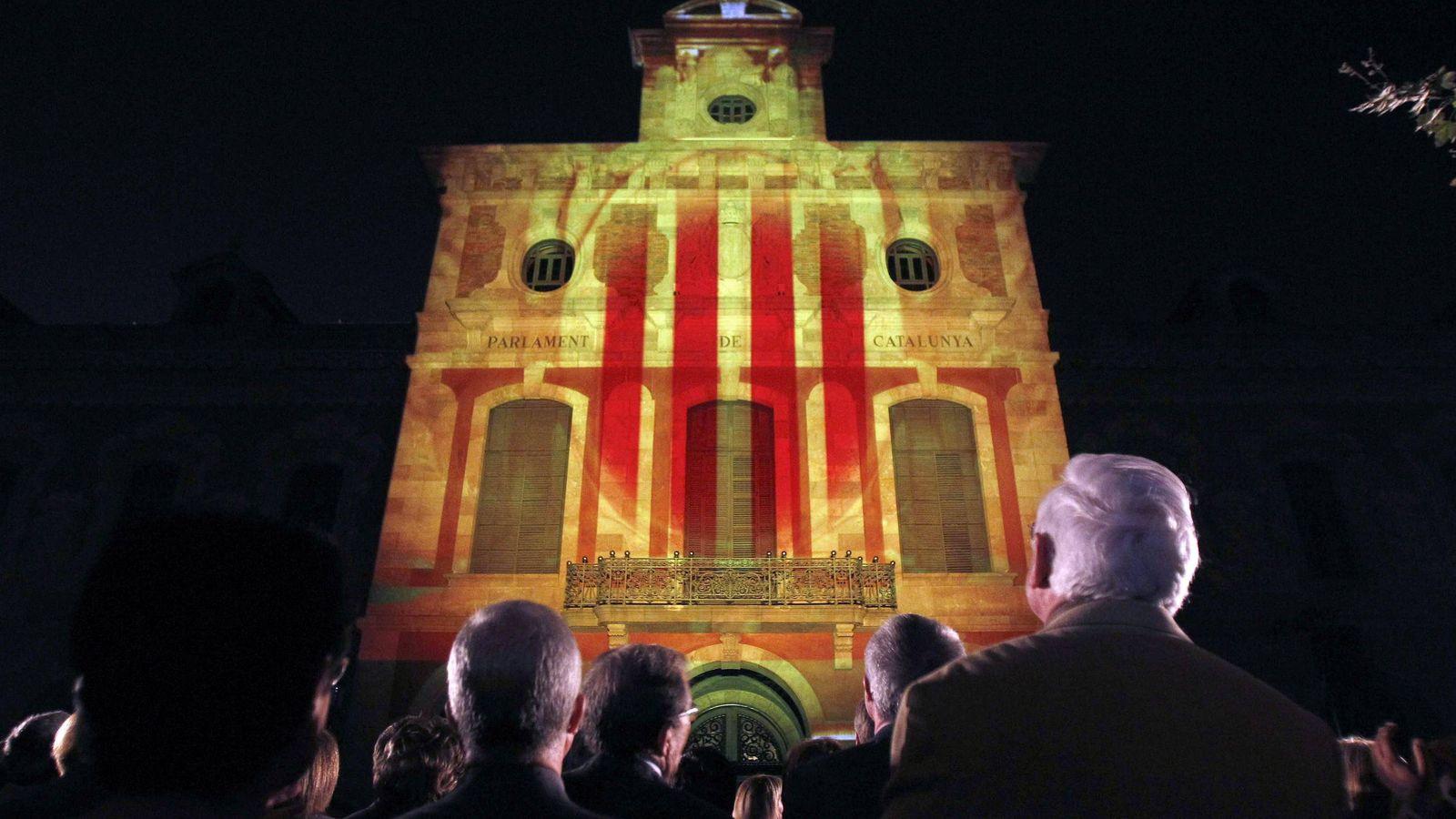 Foto: Fachada de la Generalitat. (EFE)