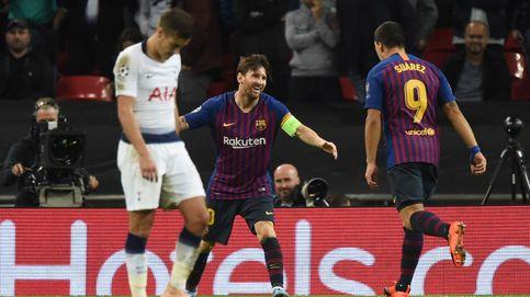 FC Barcelona - Tottenham: horario y dónde ver en TV y 'online' la Champions League