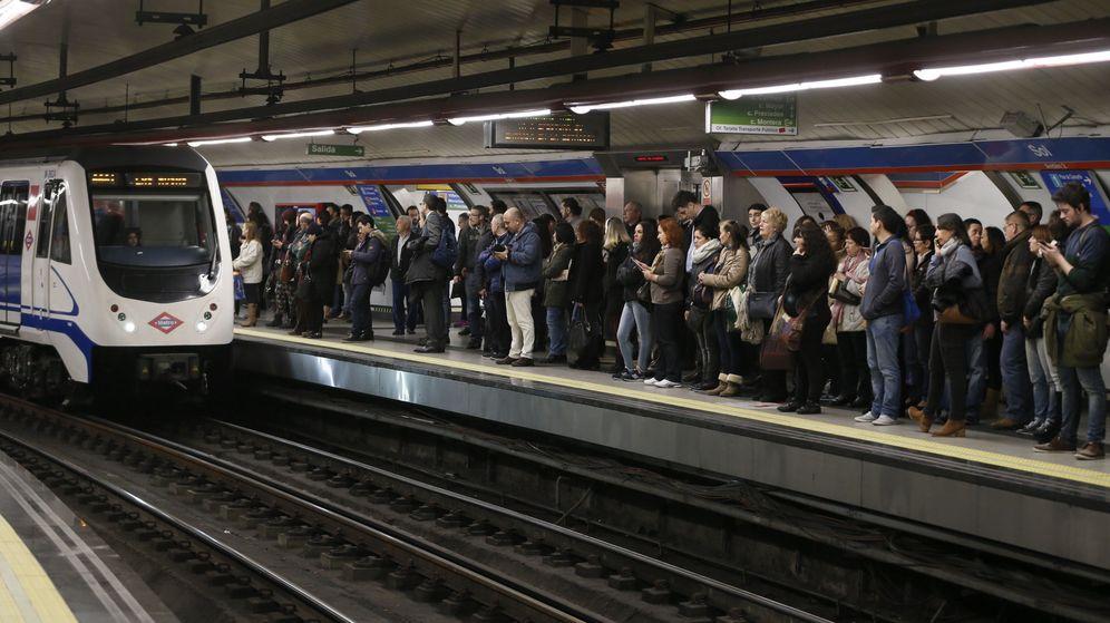 Foto: Imagen de archivo del Metro Madrid en la huelga del pasado 24 de febrero. (EFE)